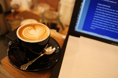 coffee-working